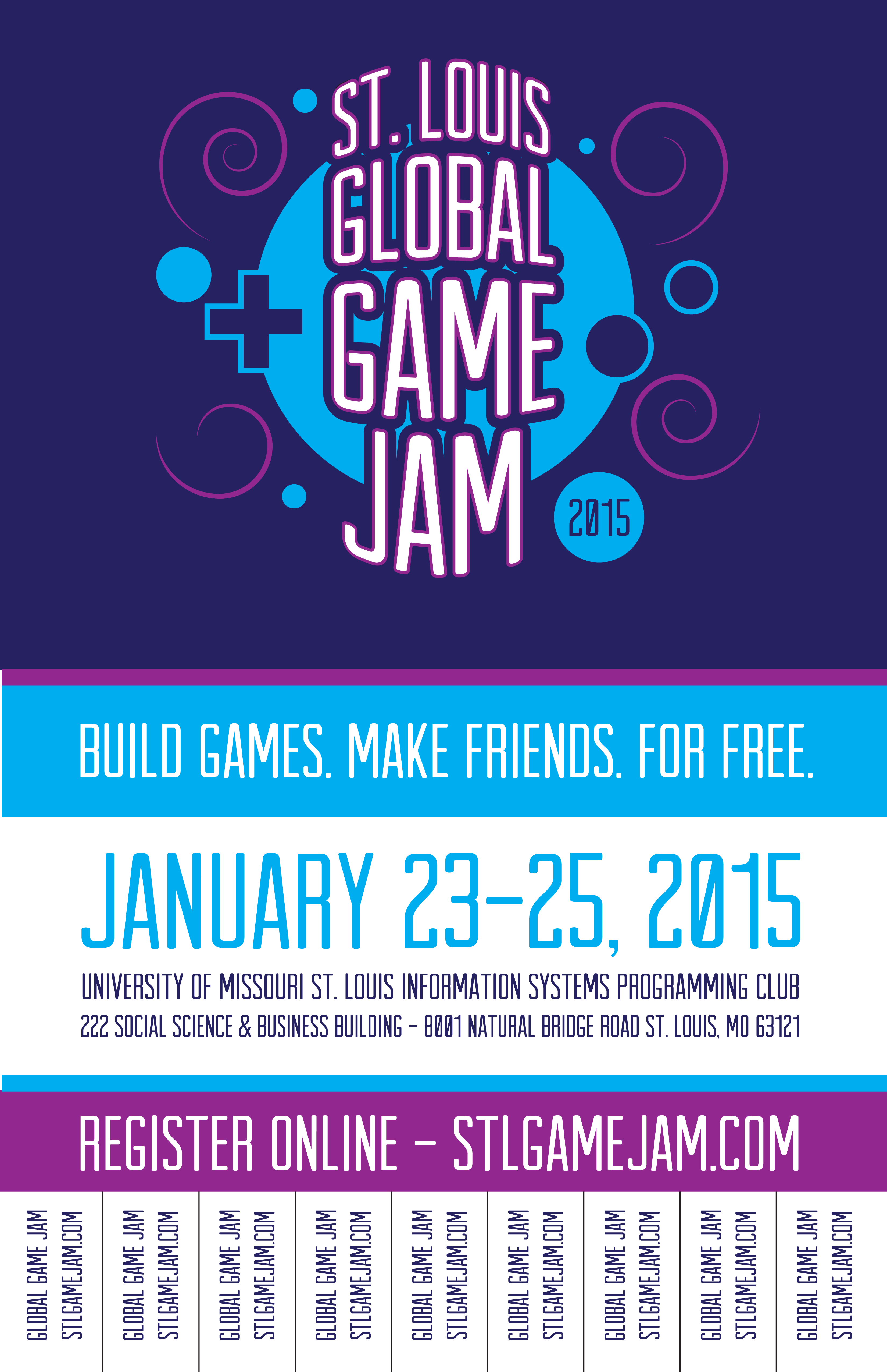printable flyers stl game jam ggj 2015 posters