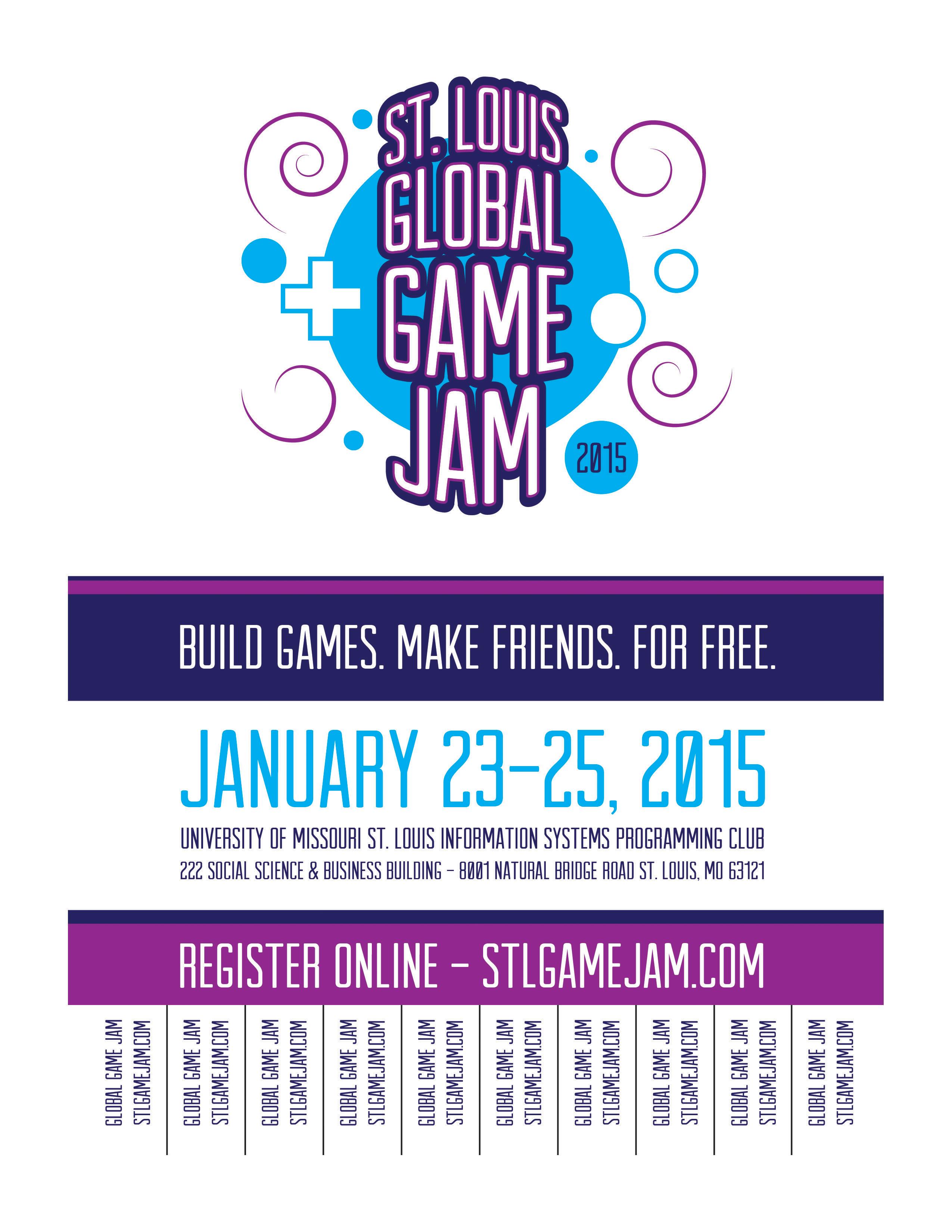 printable flyers stl game jam